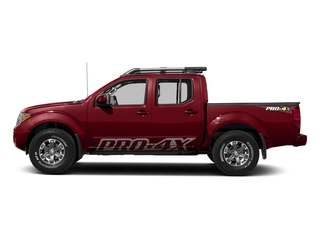 Cayenne Red 2018 Nissan Frontier Pictures Frontier Crew Cab 4x4 PRO-4X Manual photos side view