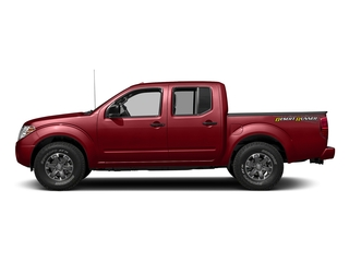 Lava Red 2018 Nissan Frontier Pictures Frontier Crew Cab Desert Runner 2WD photos side view