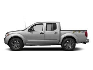 Brilliant Silver 2018 Nissan Frontier Pictures Frontier Crew Cab Desert Runner 2WD photos side view