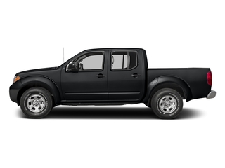 Magnetic Black 2018 Nissan Frontier Pictures Frontier Crew Cab S 2WD photos side view