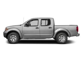 Brilliant Silver 2018 Nissan Frontier Pictures Frontier Crew Cab S 2WD photos side view