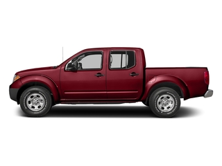 Cayenne Red 2018 Nissan Frontier Pictures Frontier Crew Cab S 2WD photos side view