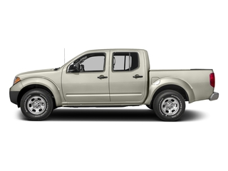 Glacier White 2018 Nissan Frontier Pictures Frontier Crew Cab S 2WD photos side view