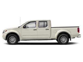 Glacier White 2018 Nissan Frontier Pictures Frontier Crew Cab SV 4WD photos side view