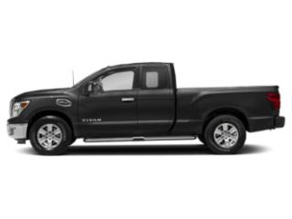 Gun Metallic 2018 Nissan Titan Pictures Titan 4x2 King Cab SV photos side view