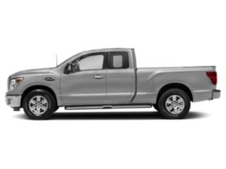 Brilliant Silver 2018 Nissan Titan Pictures Titan 4x2 King Cab SV photos side view