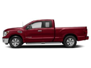 Cayenne Red 2018 Nissan Titan Pictures Titan 4x2 King Cab SV photos side view