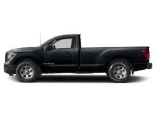 Magnetic Black 2018 Nissan Titan Pictures Titan 4x4 Single Cab S photos side view