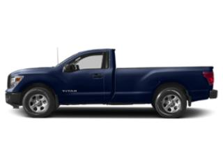 Deep Blue Pearl 2018 Nissan Titan Pictures Titan 4x4 Single Cab SV photos side view