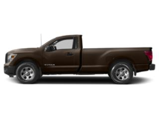 Java Metallic 2018 Nissan Titan Pictures Titan 4x4 Single Cab SV photos side view