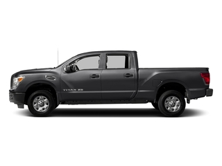 Magnetic Black 2018 Nissan Titan XD Pictures Titan XD 4x2 Diesel Crew Cab S photos side view