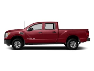 Cayenne Red 2018 Nissan Titan XD Pictures Titan XD 4x2 Diesel Crew Cab S photos side view