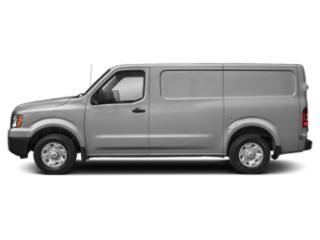 Brilliant Silver 2018 Nissan NV Cargo Pictures NV Cargo NV1500 Standard Roof V6 S photos side view