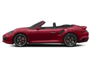 Carmine Red 2018 Porsche 911 Pictures 911 Turbo S Cabriolet photos side view