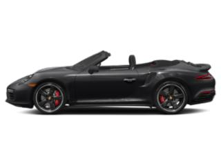 Black 2018 Porsche 911 Pictures 911 Turbo S Cabriolet photos side view