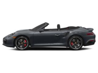 Graphite Blue Metallic 2018 Porsche 911 Pictures 911 Turbo S Cabriolet photos side view