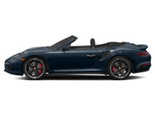 Night Blue Metallic 2018 Porsche 911 Pictures 911 Turbo S Cabriolet photos side view