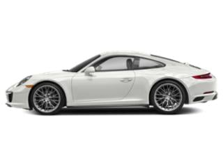 White 2018 Porsche 911 Pictures 911 Coupe 2D 4 AWD H6 Turbo photos side view