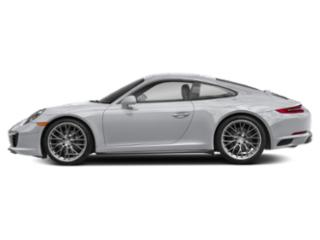 Rhodium Silver Metallic 2018 Porsche 911 Pictures 911 Coupe 2D 4 AWD H6 Turbo photos side view