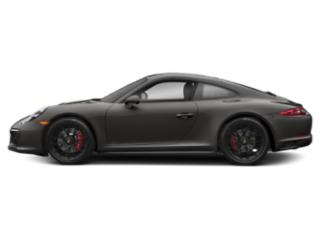 Agate Grey Metallic 2018 Porsche 911 Pictures 911 Carrera 4 GTS Coupe photos side view