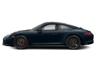 Night Blue Metallic 2018 Porsche 911 Pictures 911 Carrera 4 GTS Coupe photos side view