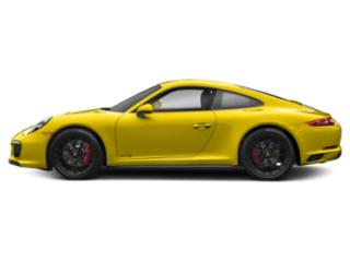 Racing Yellow 2018 Porsche 911 Pictures 911 Carrera 4 GTS Coupe photos side view