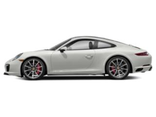 White 2018 Porsche 911 Pictures 911 Coupe 2D 4S AWD H6 Turbo photos side view