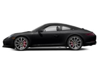Black 2018 Porsche 911 Pictures 911 Coupe 2D 4S AWD H6 Turbo photos side view