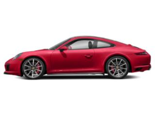 Guards Red 2018 Porsche 911 Pictures 911 Coupe 2D 4S AWD H6 Turbo photos side view