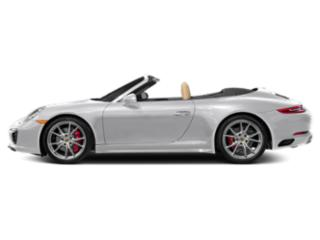 GT Silver Metallic 2018 Porsche 911 Pictures 911 Cabriolet 2D 4S AWD H6 Turbo photos side view