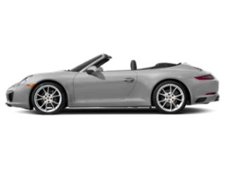 GT Silver Metallic 2018 Porsche 911 Pictures 911 Cabriolet 2D 4 AWD H6 Turbo photos side view