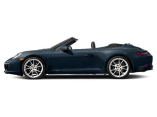 Night Blue Metallic 2018 Porsche 911 Pictures 911 Carrera 4 Cabriolet photos side view