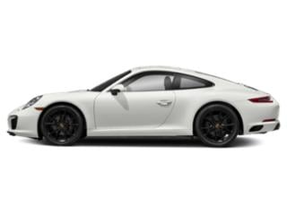 White 2018 Porsche 911 Pictures 911 Coupe 2D H6 Turbo photos side view