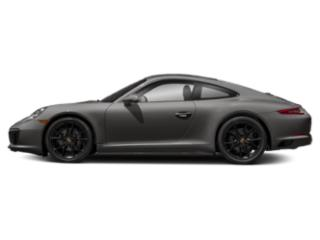 Agate Grey Metallic 2018 Porsche 911 Pictures 911 Coupe 2D H6 Turbo photos side view