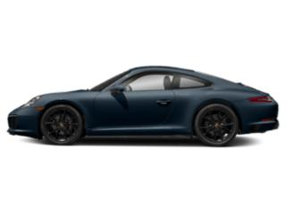 Night Blue Metallic 2018 Porsche 911 Pictures 911 Coupe 2D H6 Turbo photos side view