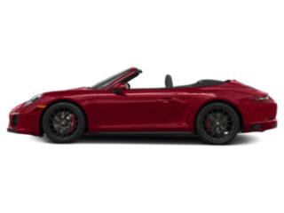 Carmine Red 2018 Porsche 911 Pictures 911 Carrera GTS Cabriolet photos side view