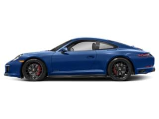 Sapphire Blue Metallic 2018 Porsche 911 Pictures 911 Coupe 2D GTS H6 photos side view