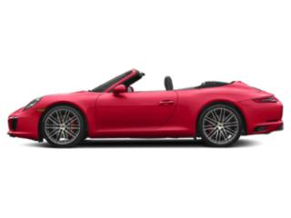 Guards Red 2018 Porsche 911 Pictures 911 Cabriolet 2D S H6 Turbo photos side view