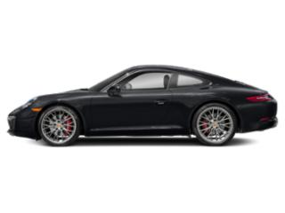 Jet Black Metallic 2018 Porsche 911 Pictures 911 Coupe 2D S H6 Turbo photos side view