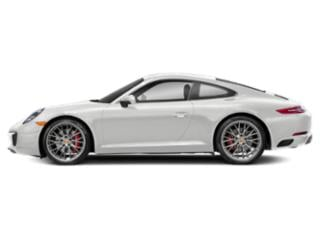 Carrara White Metallic 2018 Porsche 911 Pictures 911 Coupe 2D S H6 Turbo photos side view