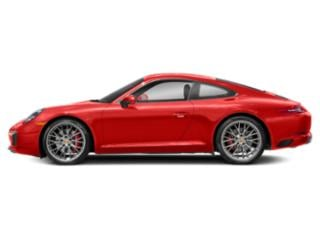 Lava Orange 2018 Porsche 911 Pictures 911 Coupe 2D S H6 Turbo photos side view