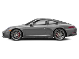 Rhodium Silver Metallic 2018 Porsche 911 Pictures 911 Coupe 2D S H6 Turbo photos side view