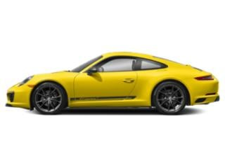 Racing Yellow 2018 Porsche 911 Pictures 911 Carrera T Coupe photos side view