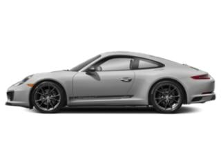 GT Silver Metallic 2018 Porsche 911 Pictures 911 Carrera T Coupe photos side view
