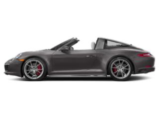 Agate Grey Metallic 2018 Porsche 911 Pictures 911 Targa 4 photos side view