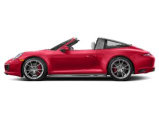 Guards Red 2018 Porsche 911 Pictures 911 Targa 4 photos side view