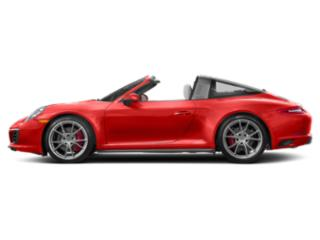 Lava Orange 2018 Porsche 911 Pictures 911 Targa 4 photos side view