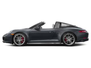 Graphite Blue Metallic 2018 Porsche 911 Pictures 911 Targa 4 photos side view