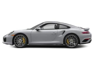Rhodium Silver Metallic 2018 Porsche 911 Pictures 911 Coupe 2D Turbo S AWD H6 photos side view