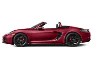 Carmine Red 2018 Porsche 718 Boxster Pictures 718 Boxster GTS Roadster photos side view